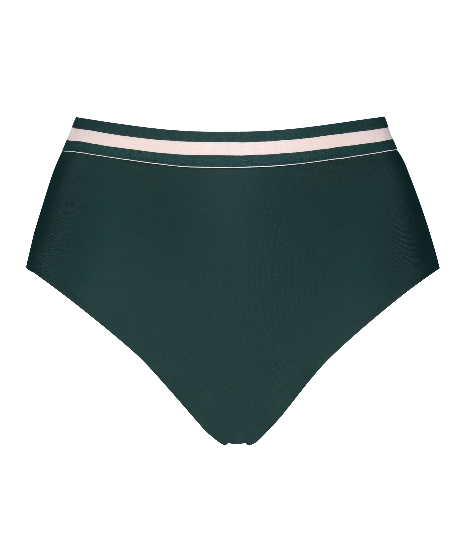 Hoog Brazilian bikinibroekje Pinewood, Groen, main