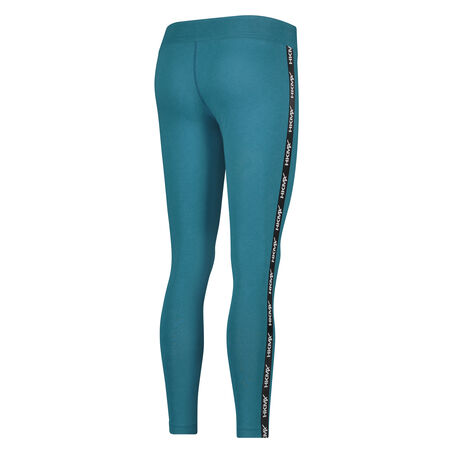 HKMX Sportlegging Branded Tape, Blauw