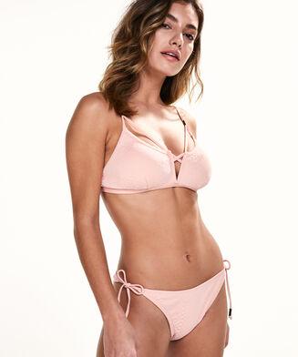 Bikini croptop Vixen Vee, Roze