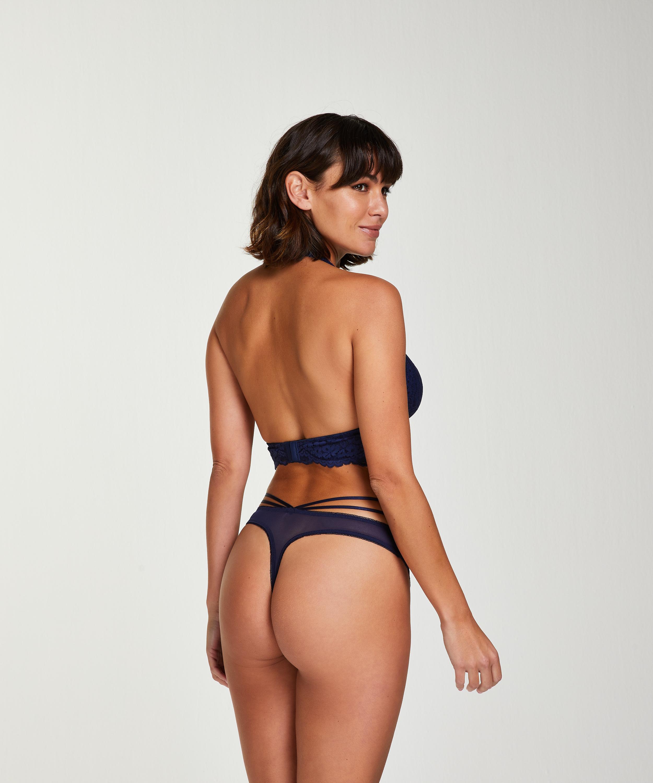 String Pia, Blauw, main