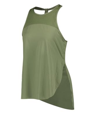 HKMX Tank top loose fit, Groen