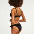 Brazilian bikinibroekje Scallop Goddess, Zwart