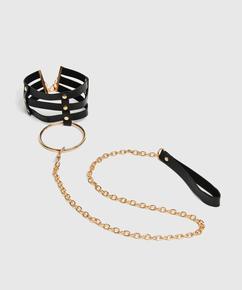 Private halsband, Zwart