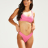 Bikini croptop Vintage HKM x NA-KD, Roze