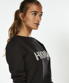 HKMX Sweater, Zwart