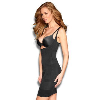 Corrigerende jurk, Zwart