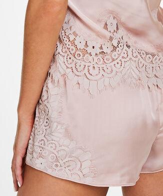 Pyjama set Satin, Roze