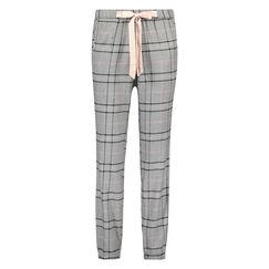 Pyjamabroek Check, Grijs