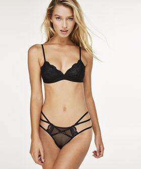 Bralette Rosie, Zwart