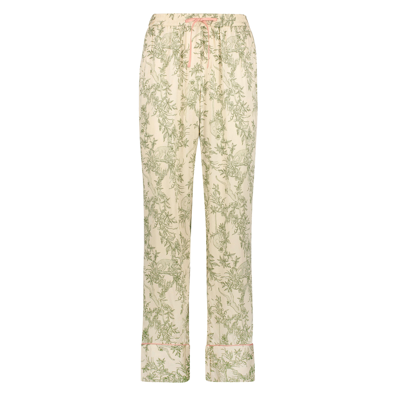 Pyjamabroek Woven, Beige, main