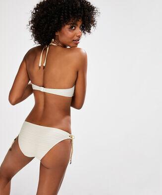Laag rio bikinibroekje Gold Stripe Doutzen, Geel