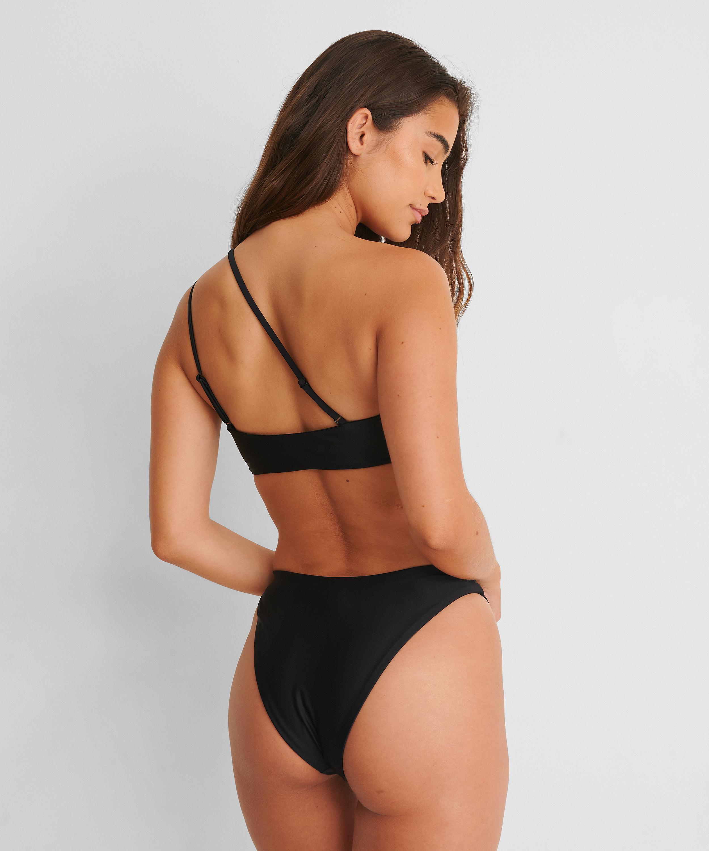 Hoog uitgesneden rio bikinibroekje HKM x NA-KD, Zwart, main