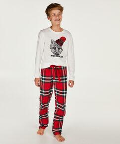 Pyjamaset tienerjongen, Rood