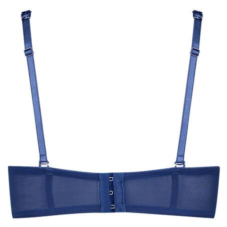 Voorgevormde strapless beugel bh Theresa, Blauw