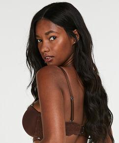 Voorgevormde strapless beugel bh Angie Nude, Bruin