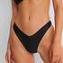 Hoog uitgesneden rio bikinibroekje HKM x NA-KD, Zwart