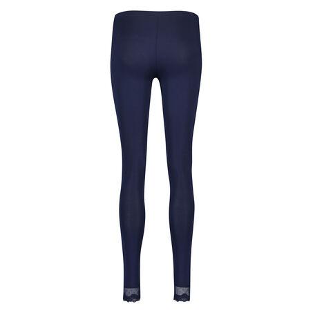 Jersey Legging Mesh Lace, Blauw