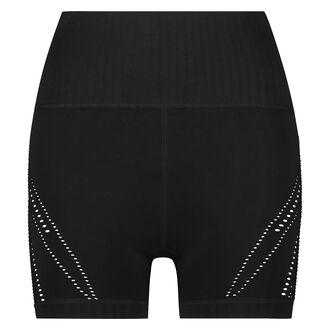 HKMX High waist sport short, Zwart