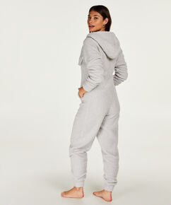 Onesie Cloud Fleece, Grijs