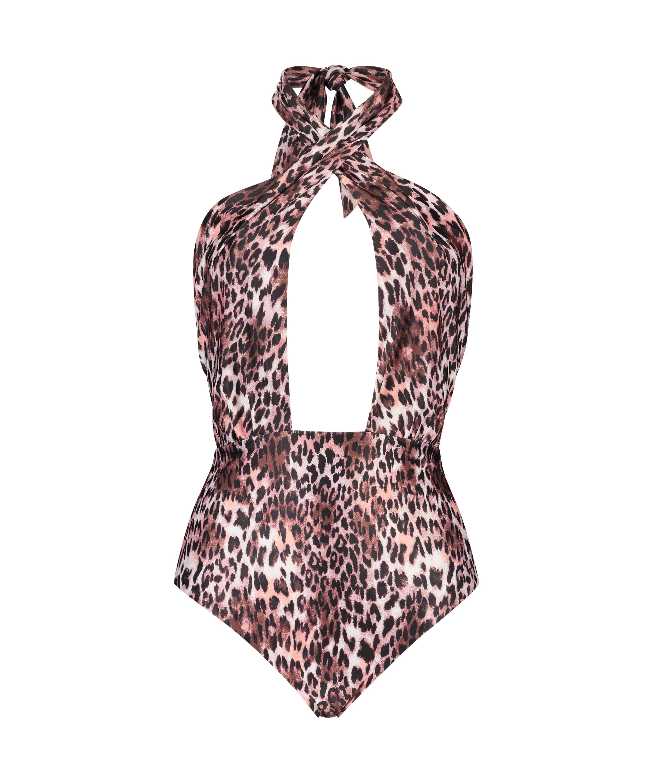 Badpak Leopard, Bruin, main