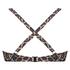 Voorgevormde beugel bikinitop Leopard, Beige