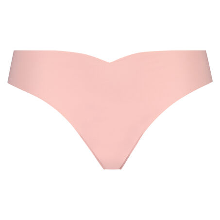 Invisible string Lace back, Roze