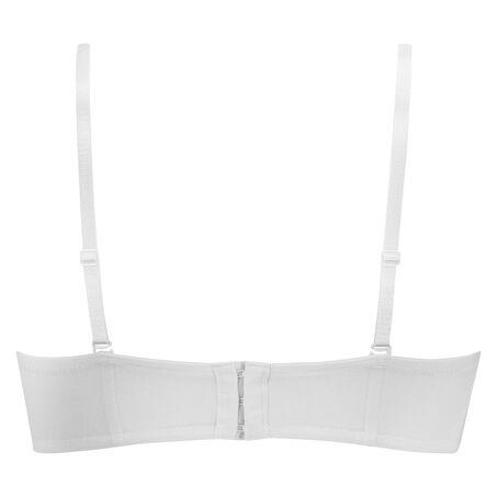 Voorgevormde strapless beugel bh Maya, Wit