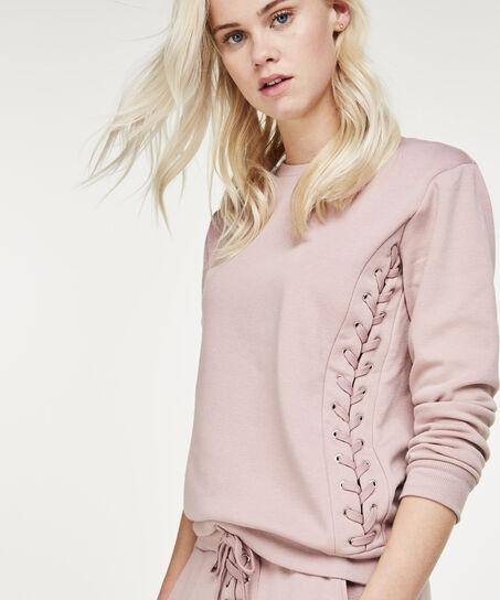 Lange mouwen sweater, Paars