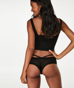 V-shape Brazilian Nisey, Zwart