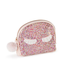Make-up tas Glitter, Roze