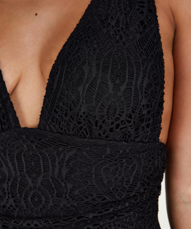 Badpak Crochet, Zwart, main