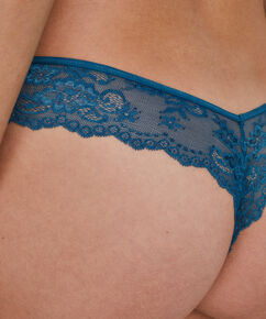 Invisible string Lace back, Blauw