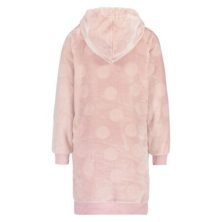 Badjas Fleece dress, Roze