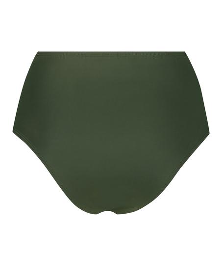 Hoog bikinibroekje Luxe, Groen