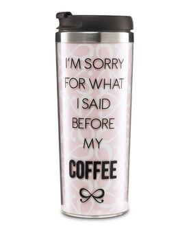 Koffiebeker, Roze