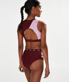 HKMX Bikini crop top, Rood