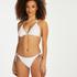 Brazilian tanga bikinibroekje Maldives, Wit