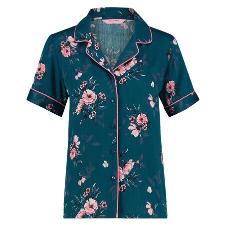 Pyjama jasje Woven , Blauw