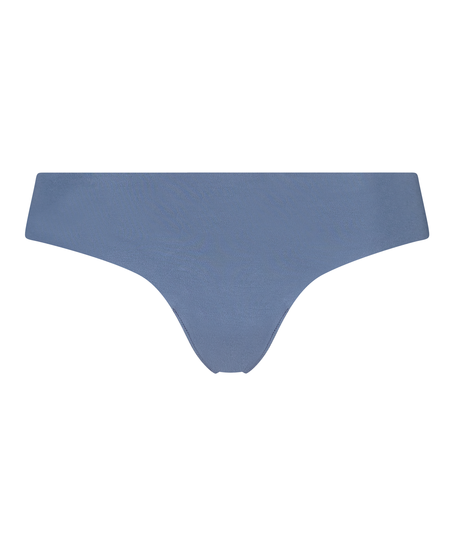 Invisible string katoen, Blauw, main