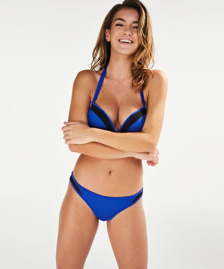 Voorgevormde push-up beugel bikinitop Fair Play, Blauw