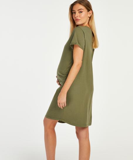 Nachthemd korte mouwen Baby In Progress, Groen