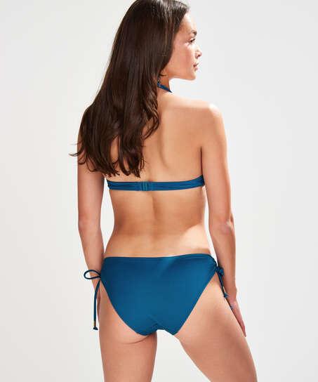 Voorgevormde push-up bikinitop Sunset Dream Cup A - E, Blauw