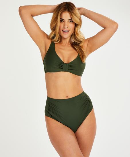 Niet-voorgevormde bikinitop Luxe, Groen