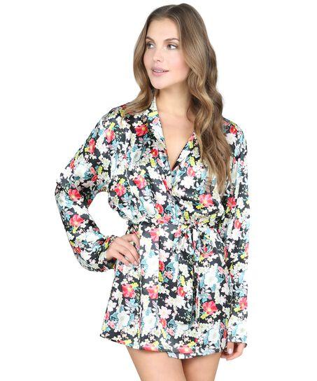 Kimono Tamara, Zwart