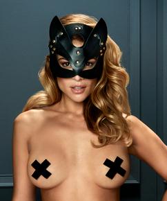 Private masker Kitten, Zwart