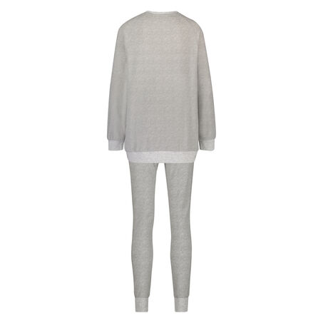 Pyjamaset Fleece, Grijs