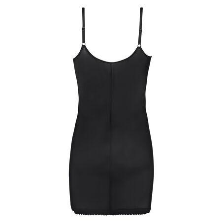 Corrigerende jurk Scallop, Zwart
