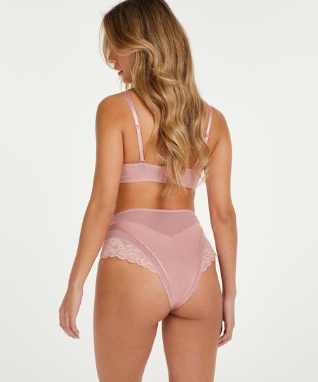 Voorgevormde strapless beugel bh Aimee, Roze