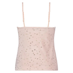 Cami Velours Ster, Roze