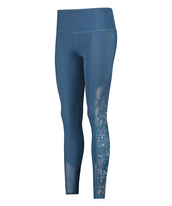 HKMX High waisted sport legging, Blauw, main